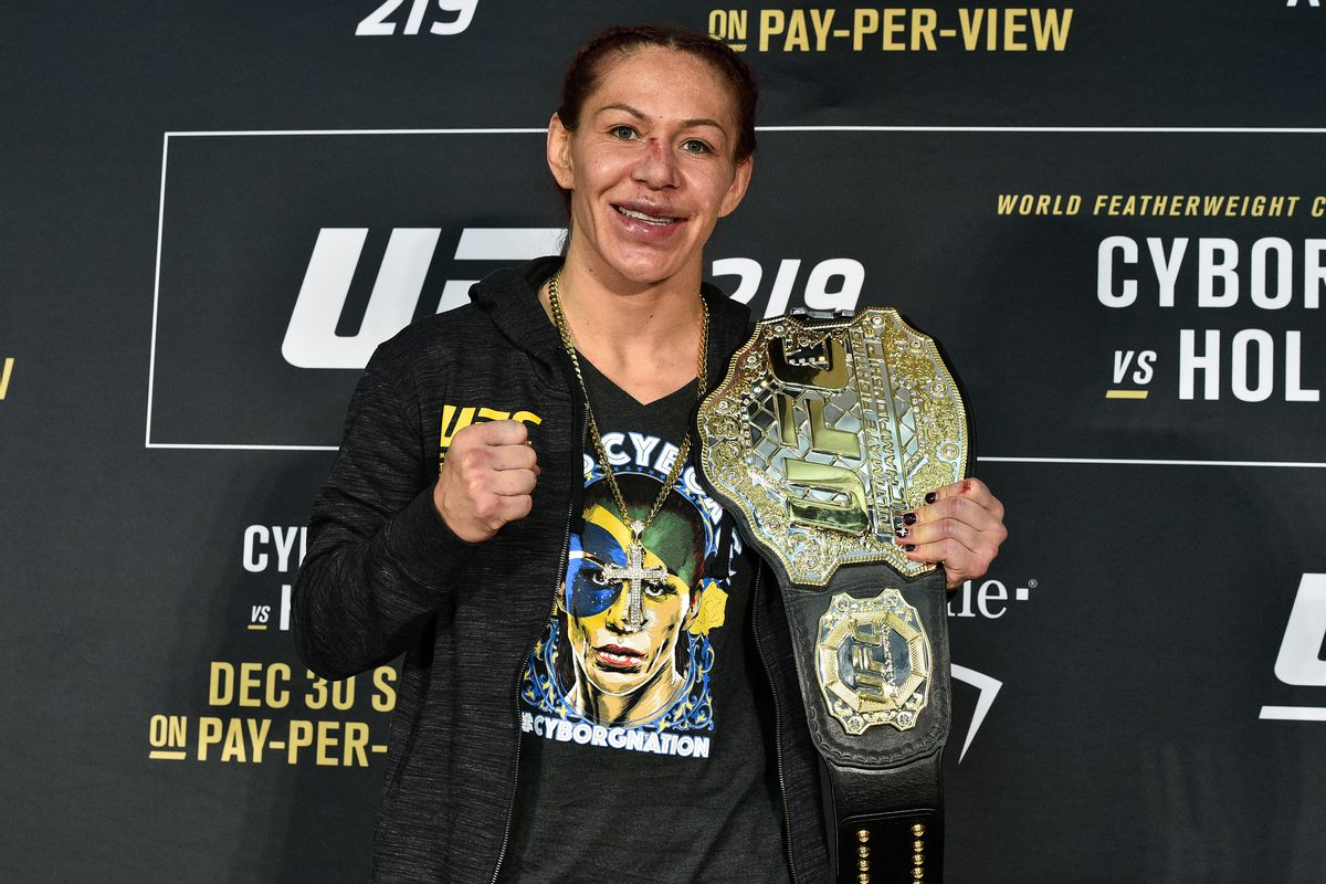 Image result for Cris Cyborg vs. Yana Kunitskaya set for UFC 222 main event; Frankie Edgar-Brian Ortega co-main