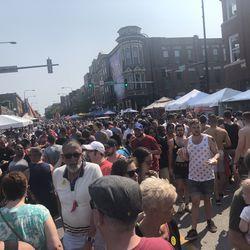 Market Days is one of the major festivals in Boystown.   Leo Ji/ Sun-Times