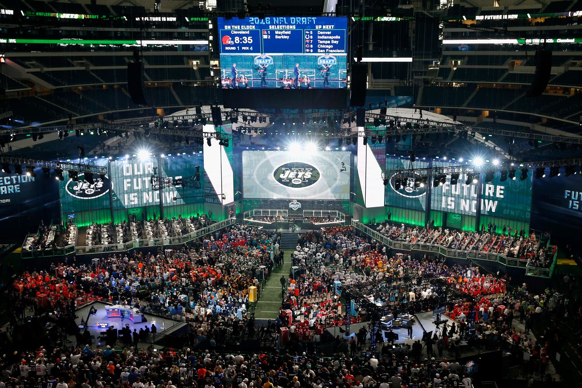 2019 NFL Draft  The New York Jets are now on the clock - Behind the ... 70dfb7beb11