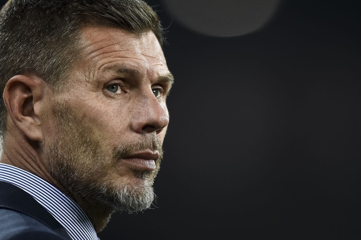 Zvonimir Boban, Chief Football Officer of AC Milan, looks on...