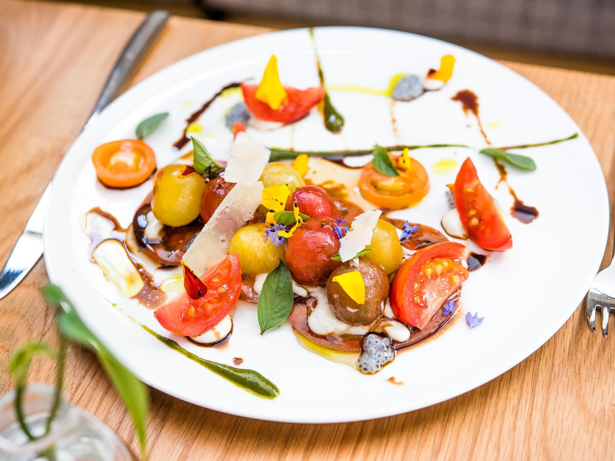 A dish at Gravitas