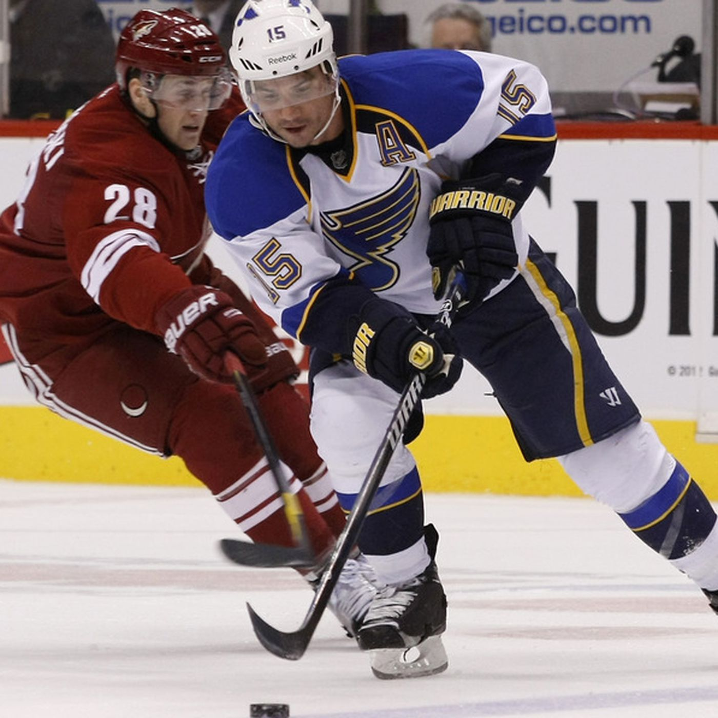 St Louis Blues Vs Phoenix Coyotes Recap Hitch Hockey Smothers