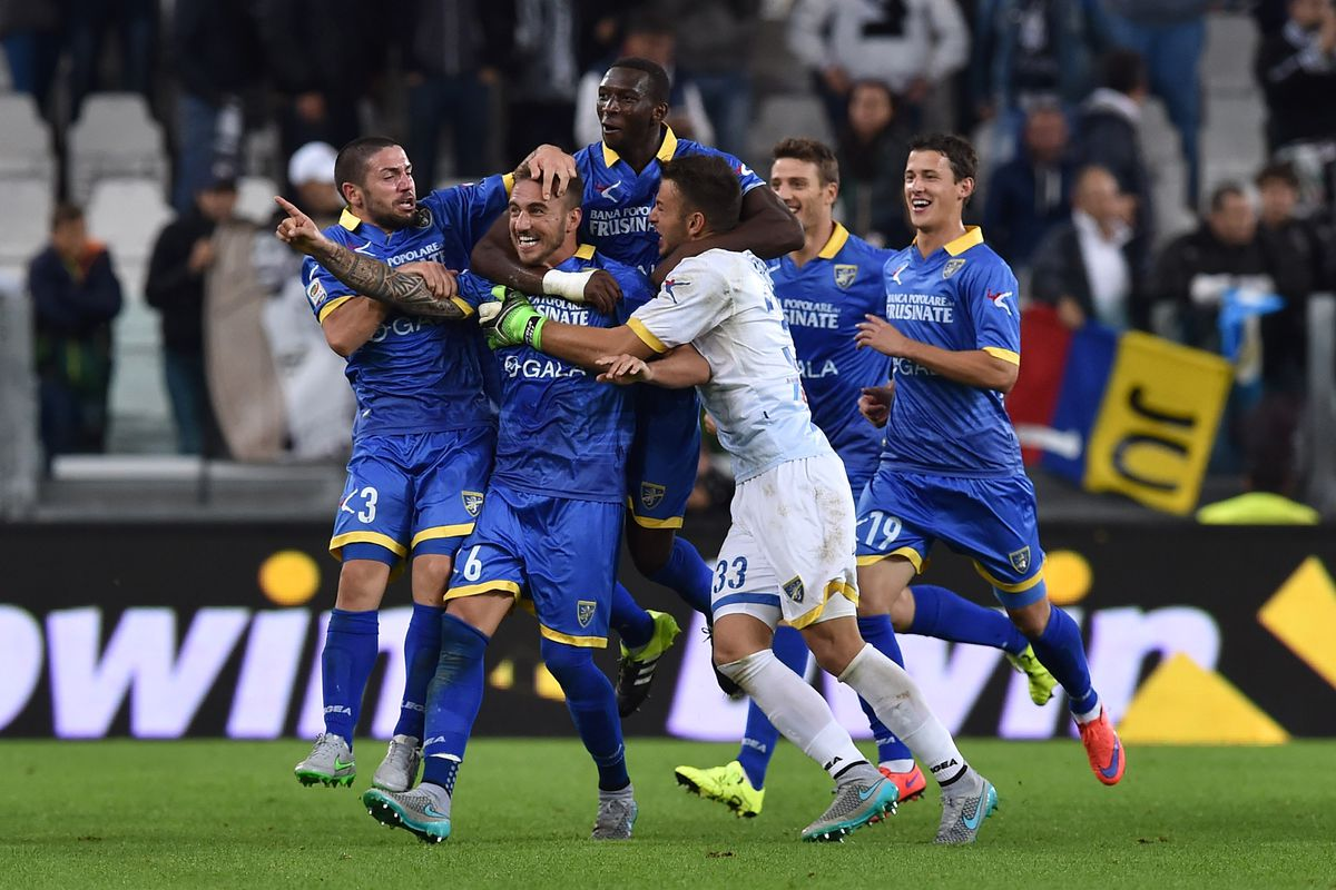 Leonardo Blanchard made himself a fan-favorite in Serie A with one headed goal, the one that earned Frosinone its first ever Serie A point.