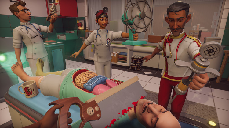Surgeon Simulator 2 is now free for NHS surgeons