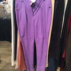 Leather pants, $50