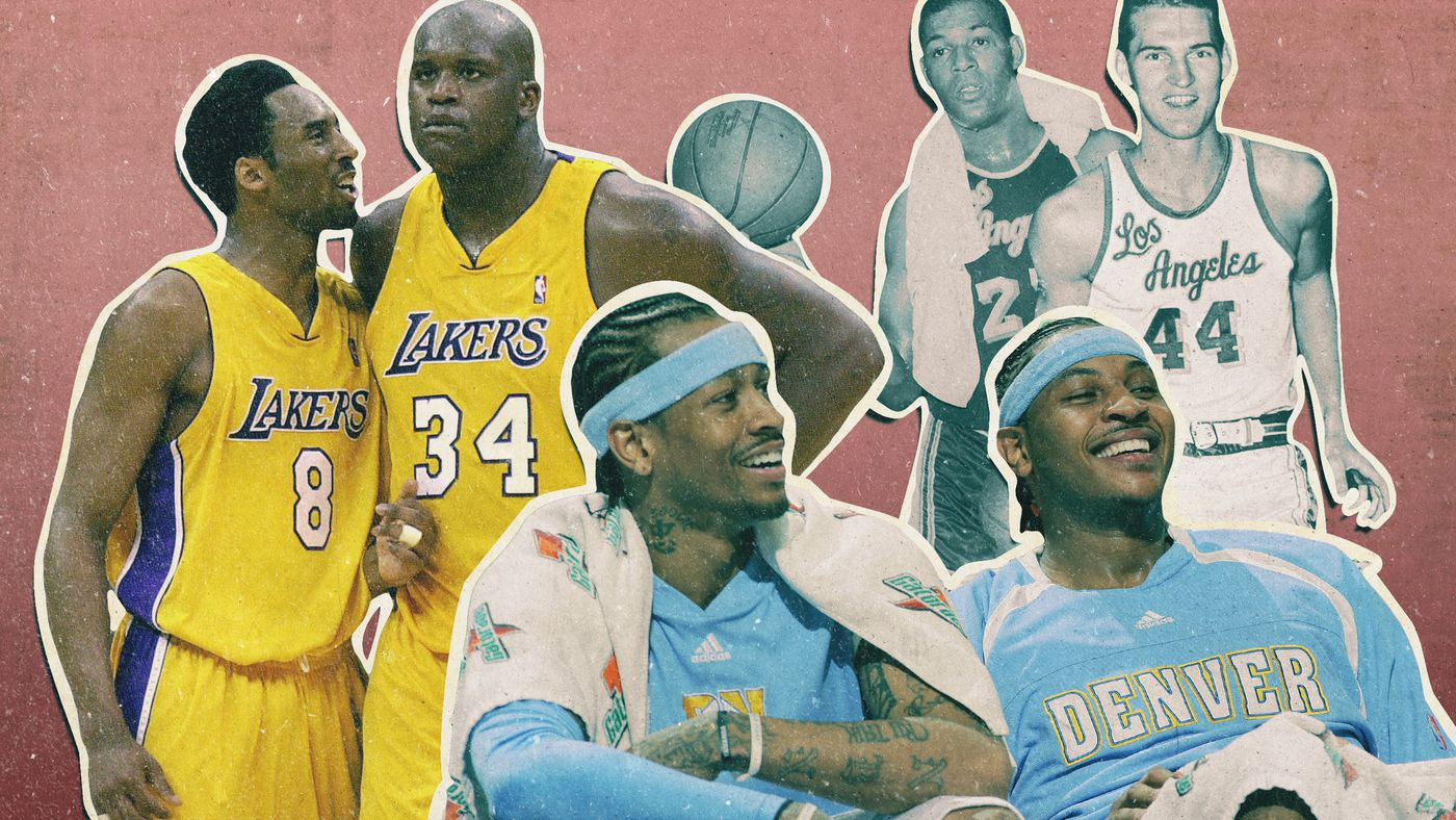 The Best Offensive One-Two Punches in NBA History