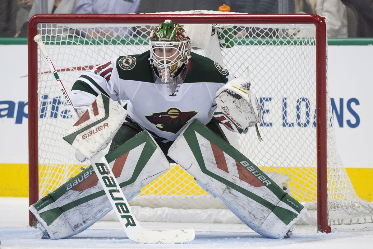 """Devan Dubnyk says """"bring it on!"""", but he'd no doubt appreciate some goal support."""