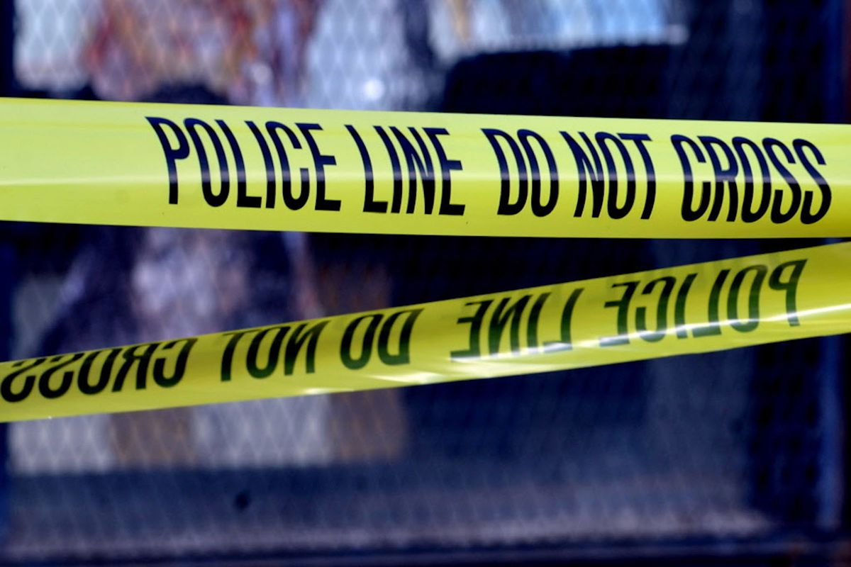 The 13-year-old was shot in the abdomen.