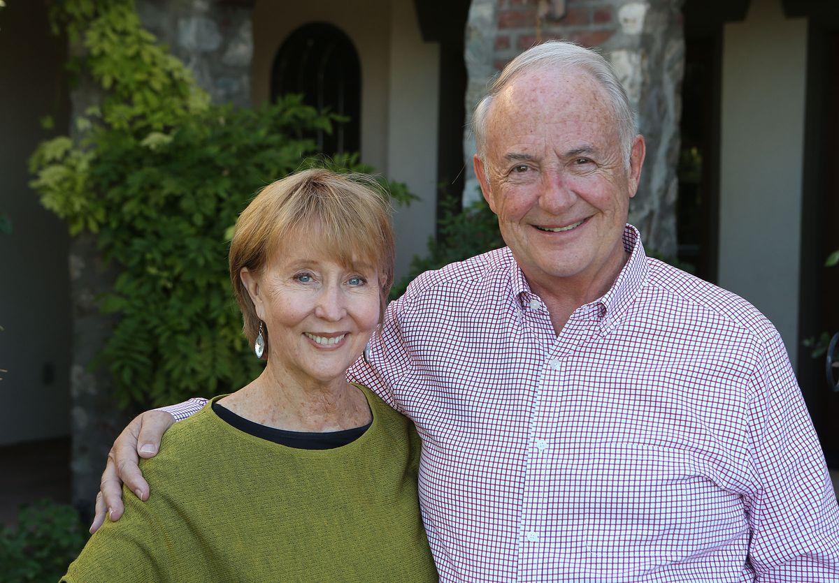 Robert and Katharine Garff.