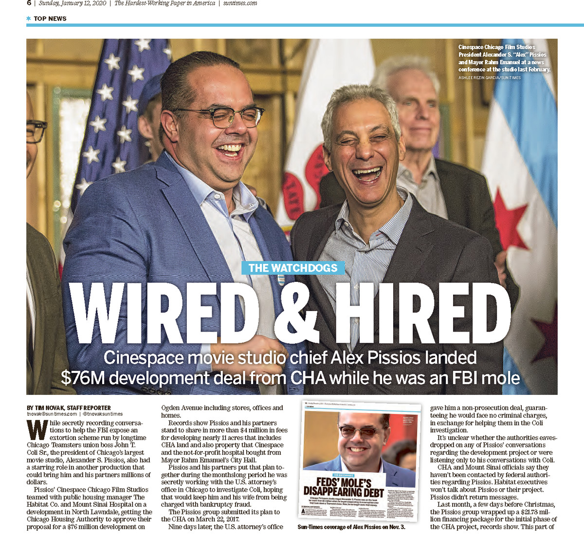 Read this Jan. 12, 2020, Sun-Times report.
