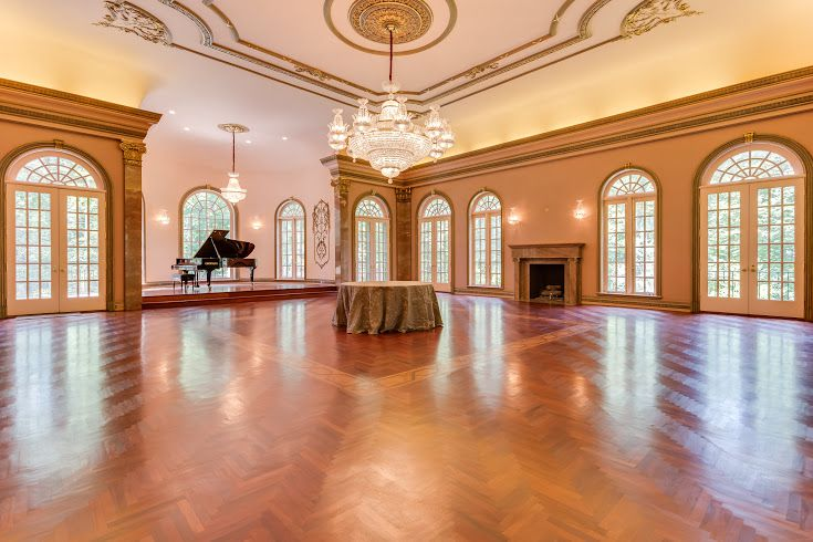 With A 200 Guest Ballroom This Mclean Mansion Is On The