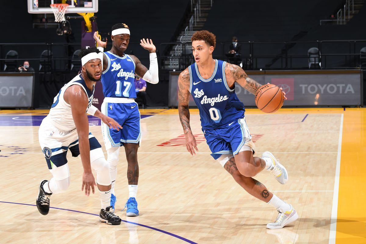 Minnesota Timberwolves v LA Lakers