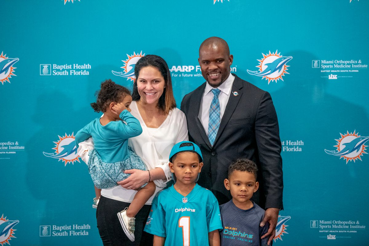 Miami Dolphins Introduce Brian Flores