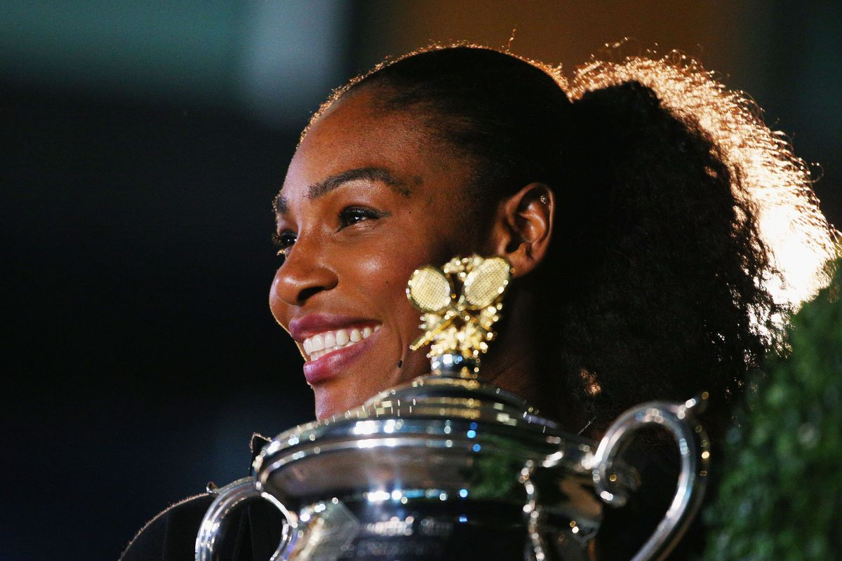 Serena Williams Sat Down at Meril Restaurant For Wedding Planning