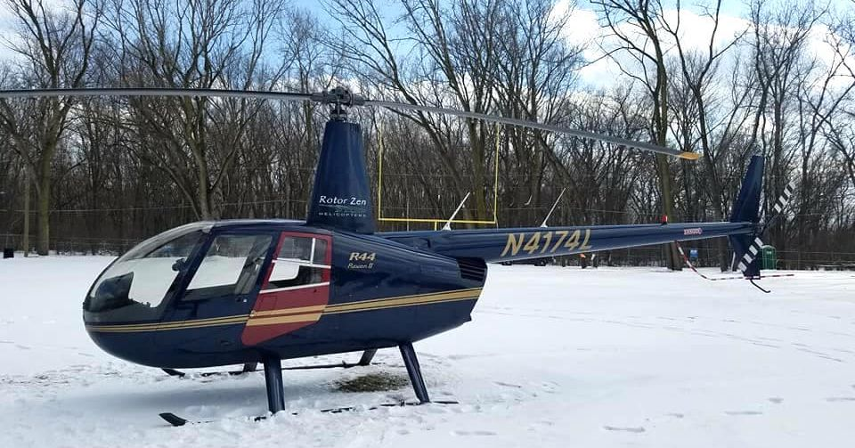 Helicopter tries to make emergency landing at Midway but lands in Stickney park area