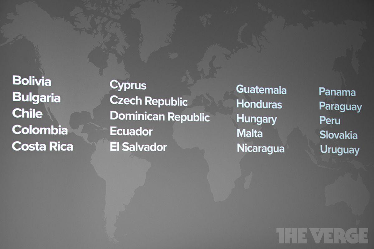 Spotify South American Markets