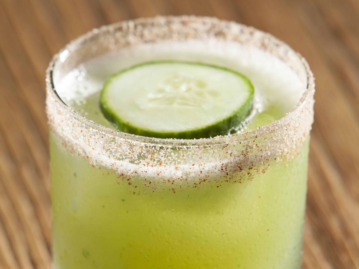 The Margarita Verde at Water Grill Dallas