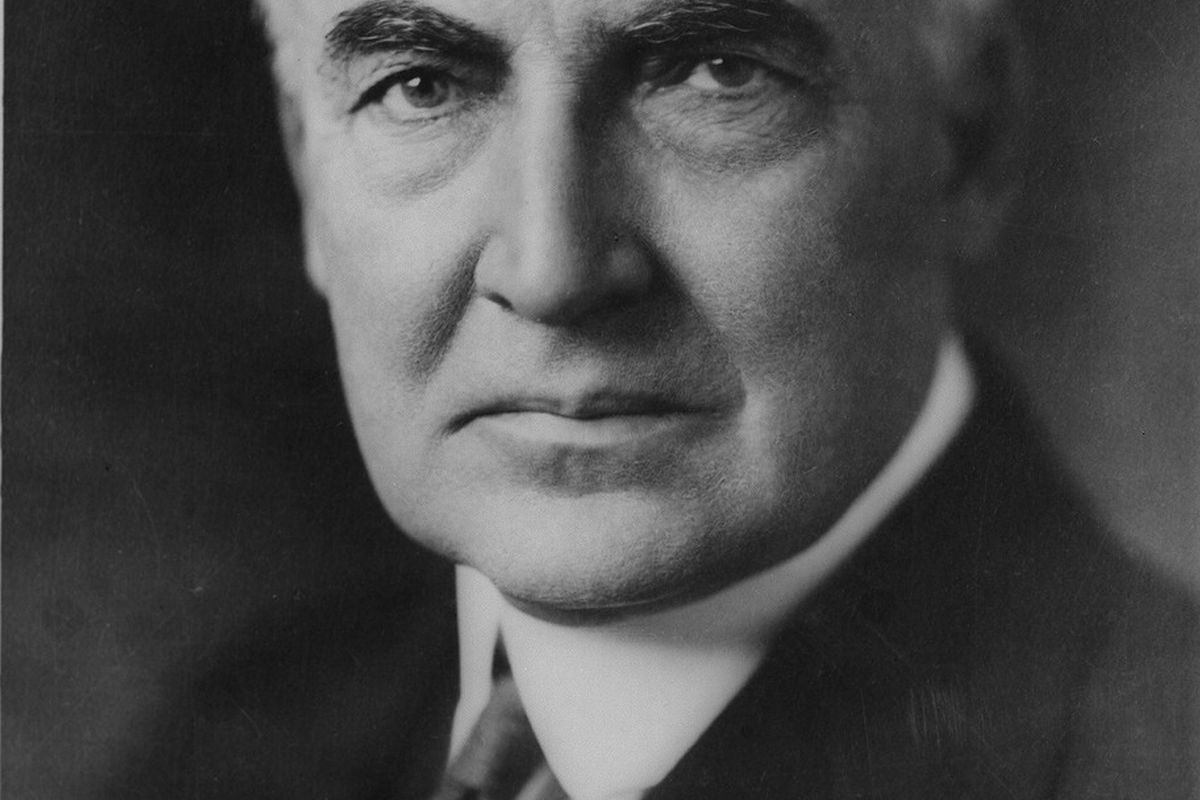 Warren Harding: not a great president, not a terrible one either.