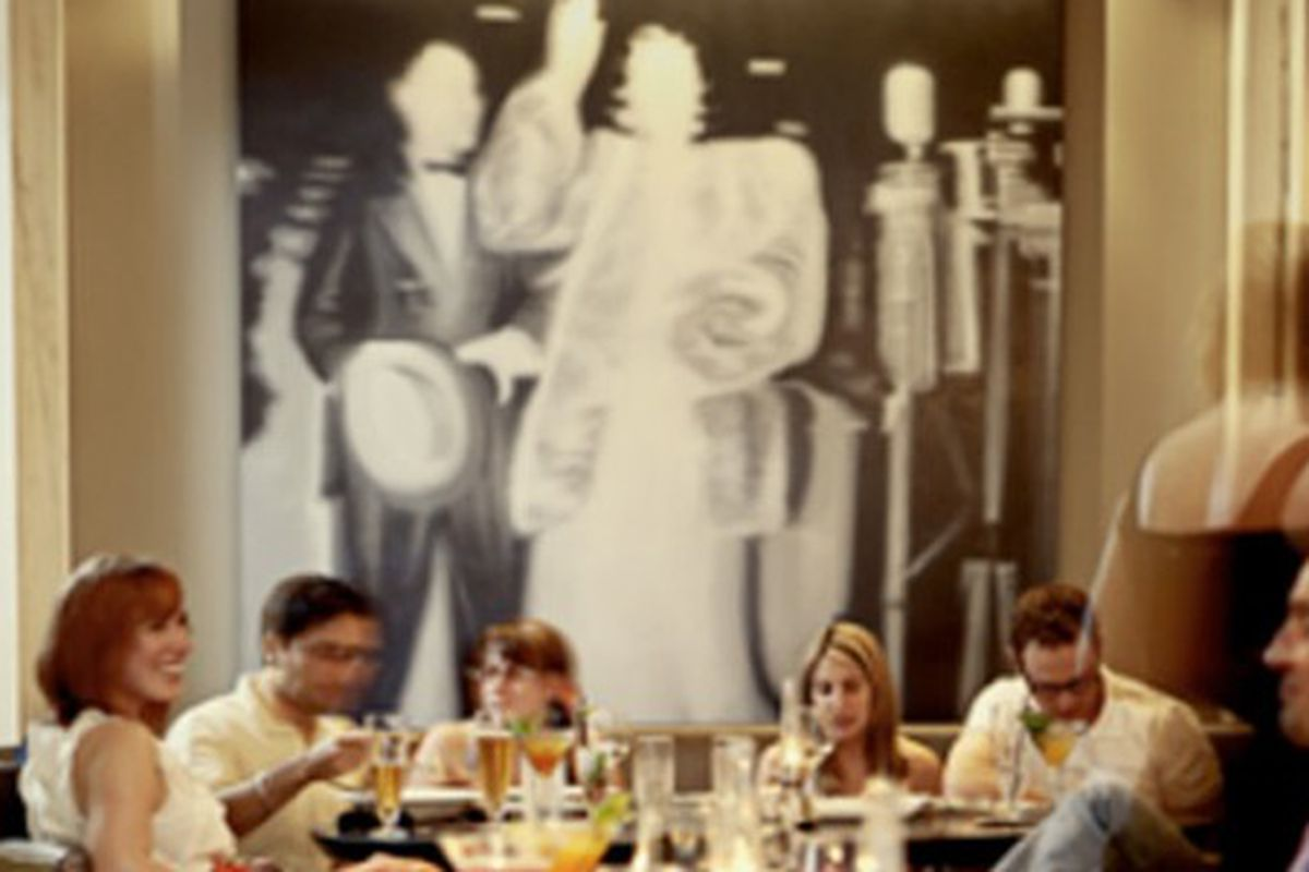 The dining room at Livingston Restaurant + Bar.