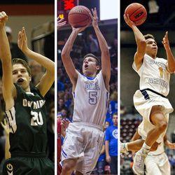 5A MVP: Yoeli Childs, Bingham; 4A MVP: Isaac Monson, Olympus; 3A MVP: Tyler Bennett, Dixie; 2A MVP: Darrin Gethers, Summit Academy; 1A MVP: Tyus Millhollin, Diamond Ranch