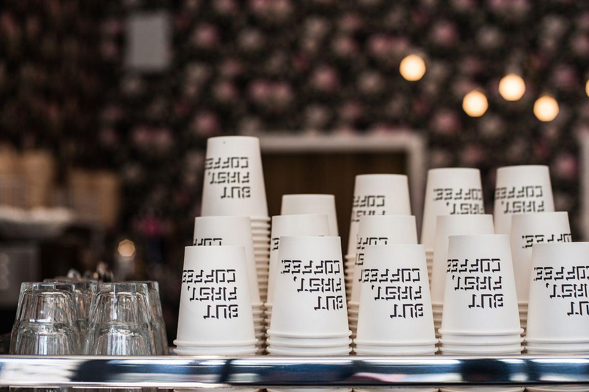 Inside Alfred Coffee, Silver Lake