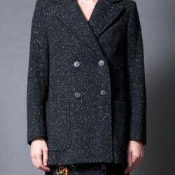 """<a href=""""http://www.zara.com/webapp/wcs/stores/servlet/product/us/en/zara-us-W2012-s/317502/926506/DOUBLE%20BREASTED%20OVERCOAT%20WITH%20GOLDEN%20BUTTON"""">Steven Alan</a> Double Breasted Jolen Coat at Bird, $209 (was $425)"""