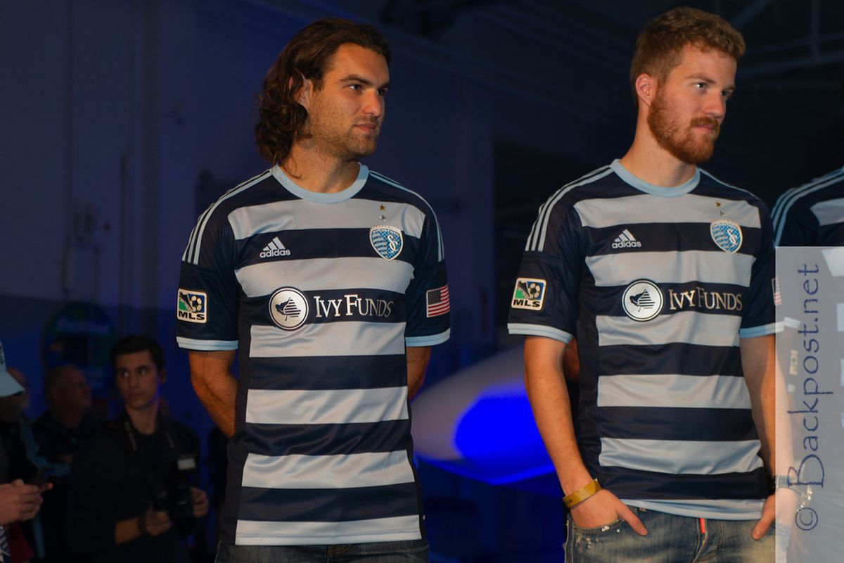 SKC's new secondary jersey was a big hit