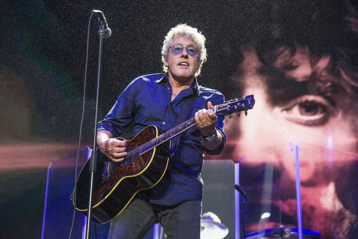 Roger Daltrey of The Who performs at the 2017 Outside Lands Music Festival at Golden Gate Park in San Francisco.