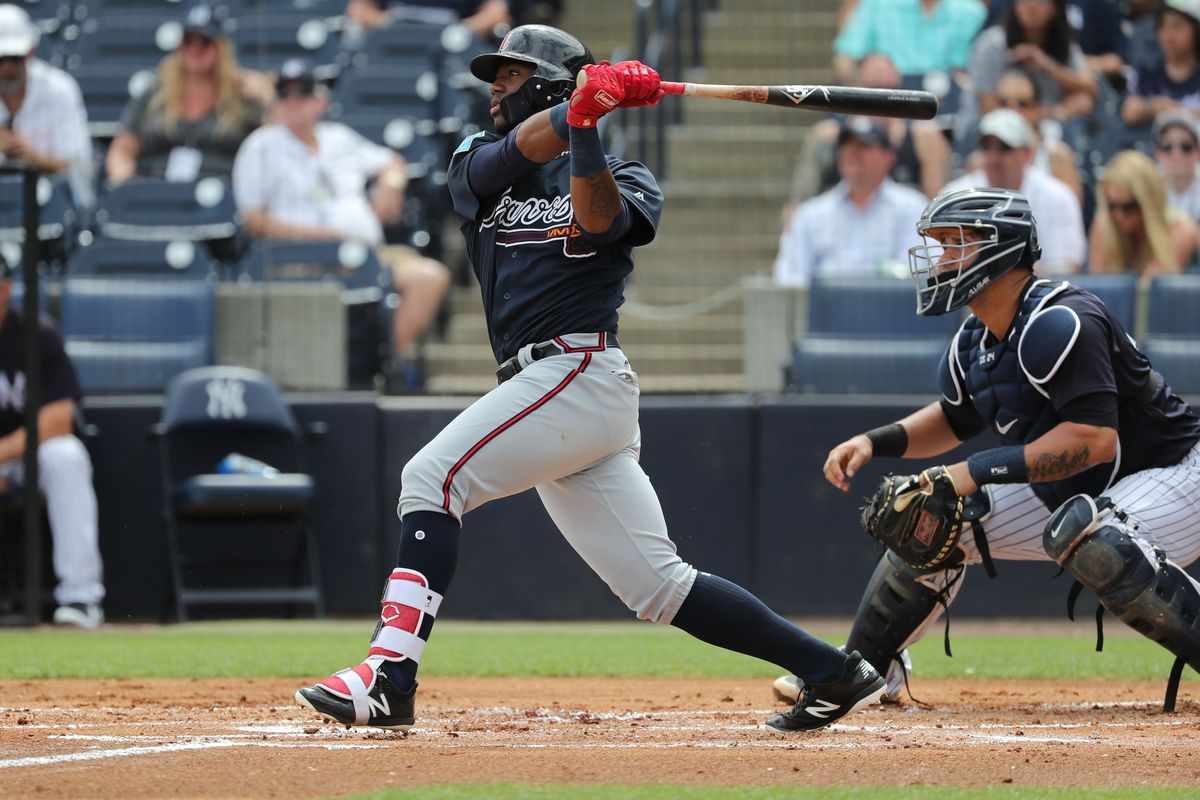 the case for putting ronald acuña jr on the braves opening day