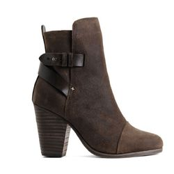 """<b>Rag & Bone</b> Kinsey Boot in brown suede, <a href=""""http://www.rag-bone.com/Kinsey_Boot__Brown_Suede/pd/cl/14049/np/201/p/5795.html"""">$595</a>"""