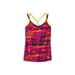 """<b>C9 by Champion</b> Double Strap Cami in glory orange print, <a href=""""http://www.target.com/p/c9-by-champion-women-s-double-strap-cami-assorted-colors/-/A-14232429#"""">$12.99</a> at Target"""