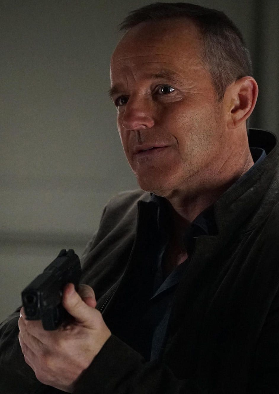 Clark Gregg as Agent Coulson on Agents of SHIELD season 5