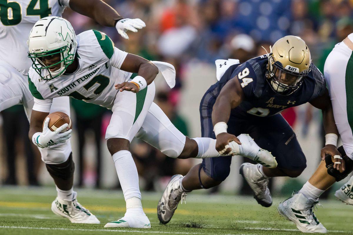 NCAA Football: South Florida at Navy