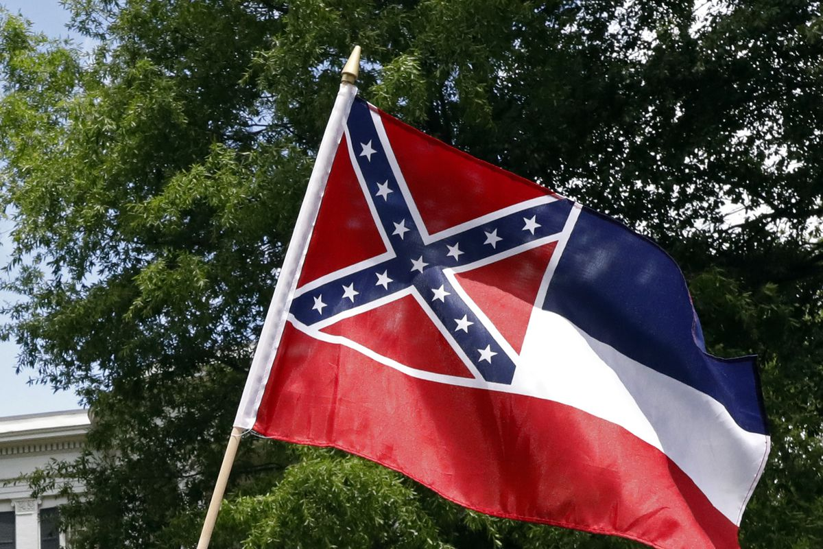 The Southeastern Conference is considering not holding championship events in the state of Mississippi unless the Confederate symbol is removed from the state flag.