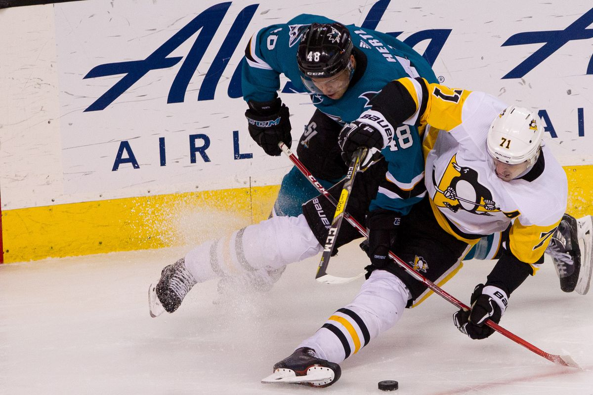 Pittsburgh Penguins   San Jose Sharks 1 15 2019  lines b33aadb54e7f
