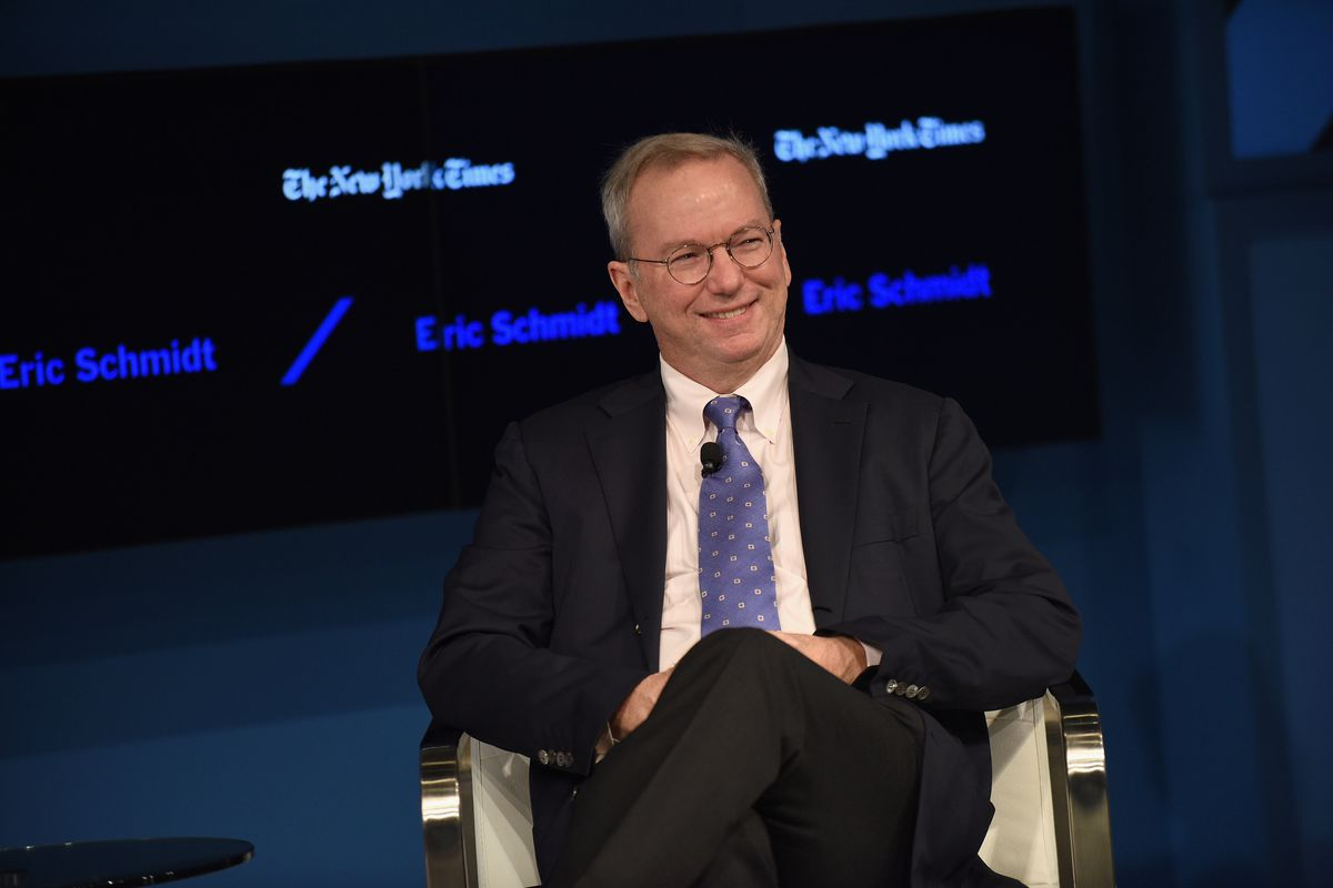 Eric Schmidt to step down as executive chairman of Google parent Alphabet