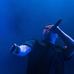 Run the Jewels open up for Lorde at Allstate Arena. | Erin Brown/Sun-Times