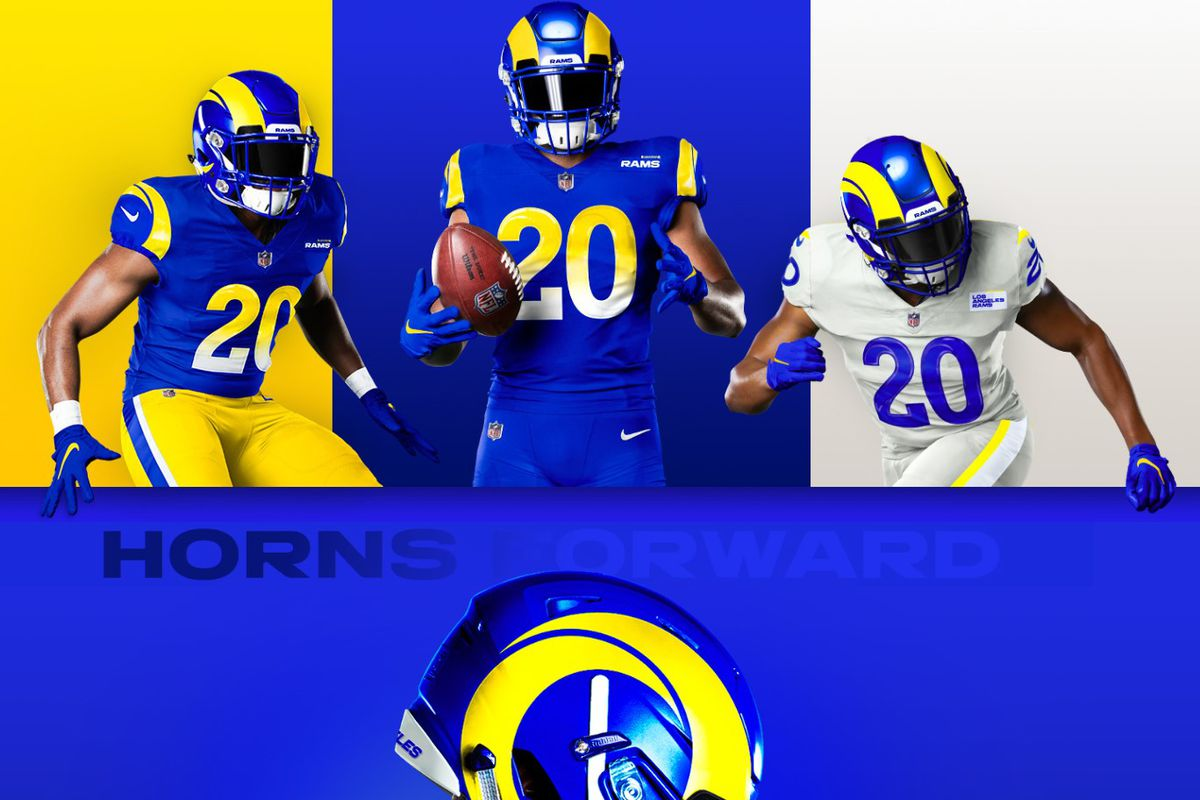 Why Did The Rams Logo And Uniform Re Designs Get Received So Poorly Turf Show Times