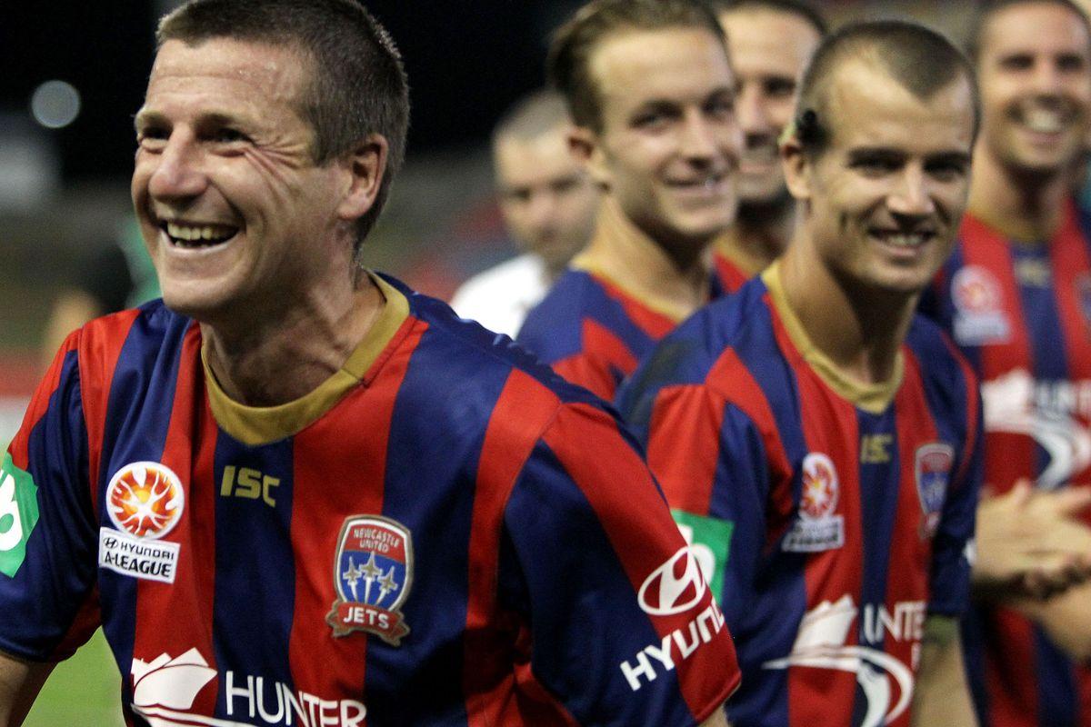 A-League Rd 27 - Newcastle v Adelaide