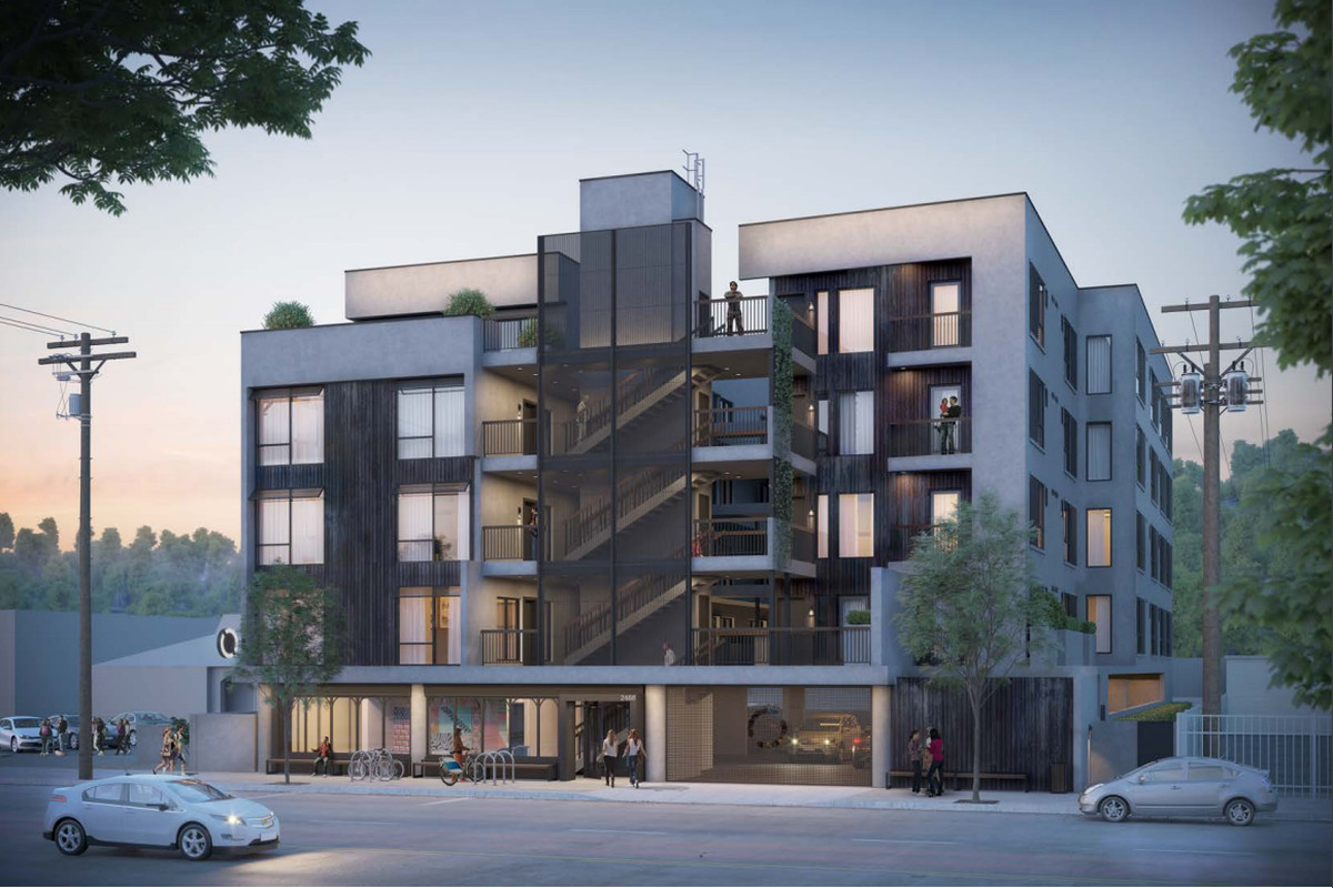 First Look At 5 Story Apartment Building Planned For Glendale Boulevard In Silver Lake