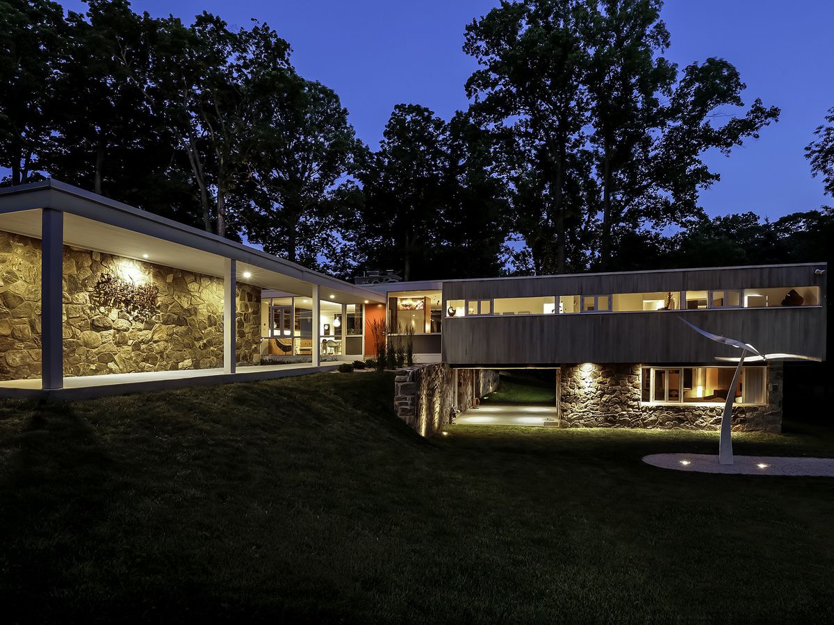 Philly 39 s top 10 midcentury modern homes curbed philly for Mid modern homes