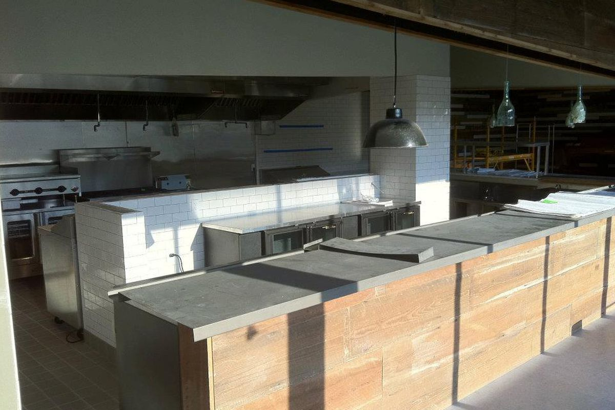 Liberty Kitchen under construction in 2011