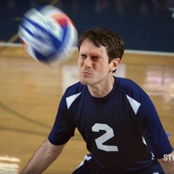 Scott Sterling returned to YouTube on Tuesday, this time helping the Yale Bulldogs win a game of volleyball.