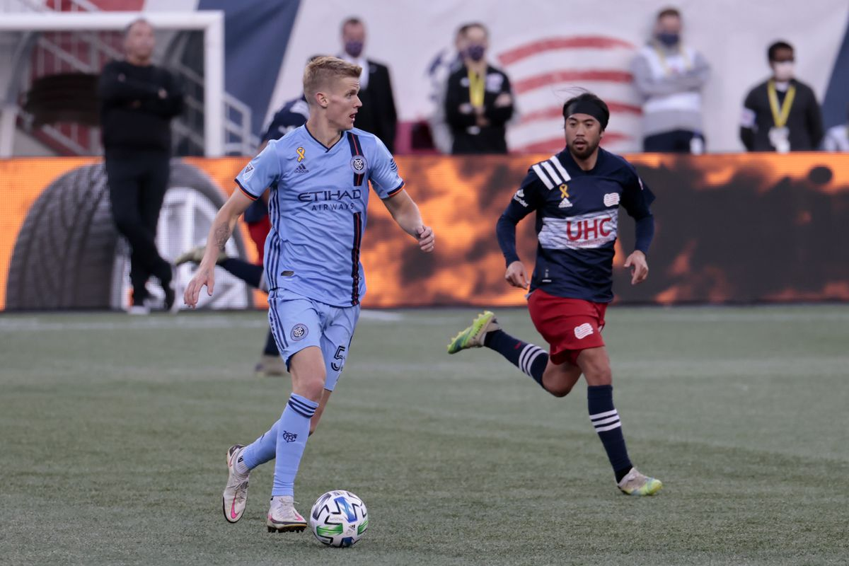 SOCCER: SEP 19 MLS - New York City FC at New England Revolution