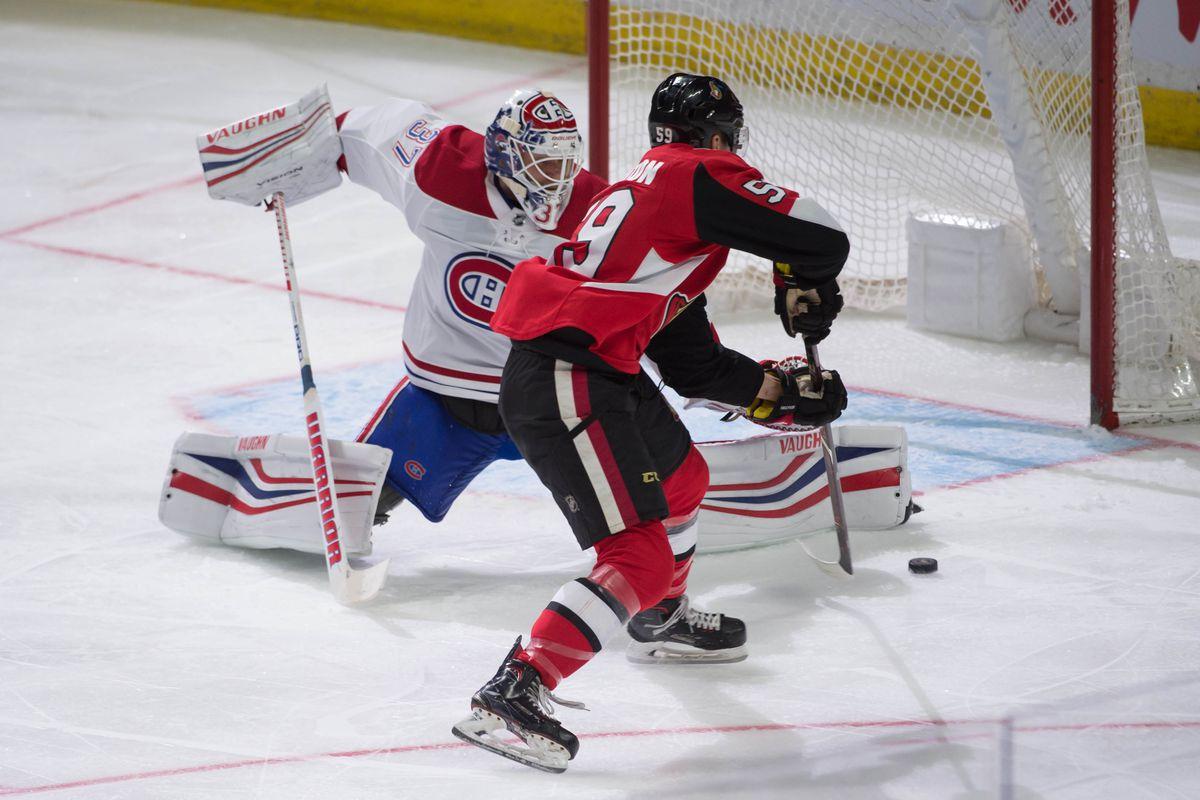 NHL: Preseason-Montreal Canadiens at Ottawa Senators
