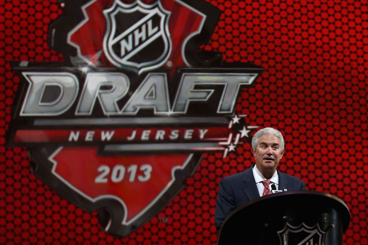 Jeff Vanderbeek opened the day with a welcome message and the Devils made some noise at the Draft by trading #9 for Cory Schneider