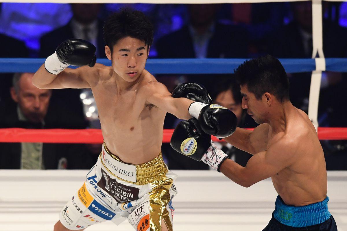 Kenshiro Teraji v Ganigan Lopez - WBC Light Flyweight Title Bout
