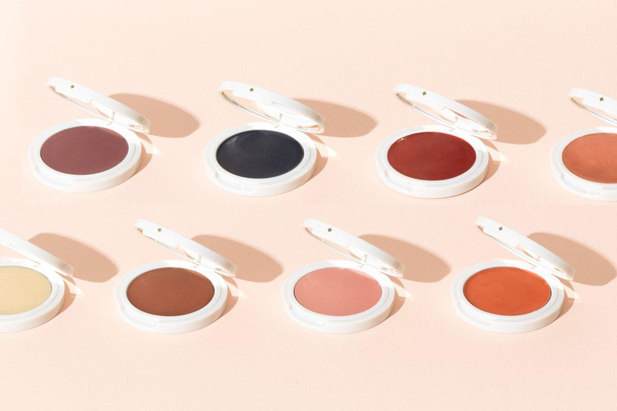 Cream eyeshadows by Jillian Dempsey