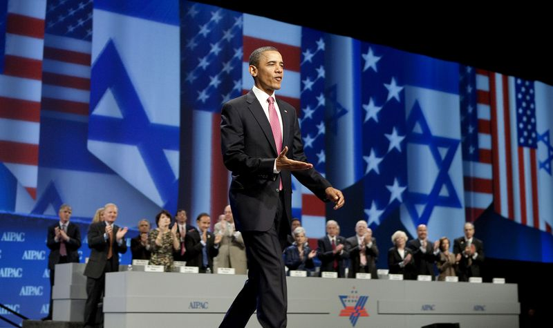 Obama Speaks At AIPAC Policy Conference 2011
