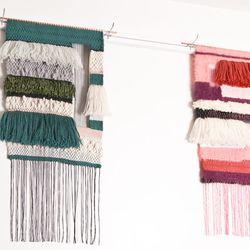 A few of Jung's new weavings.